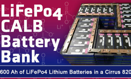 LiFePo4 Lithium Battery Install in a Truck Camper