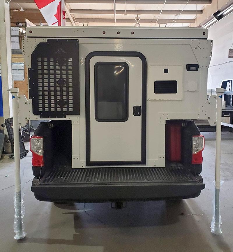 Camp M Exterior Truck Rear Profile