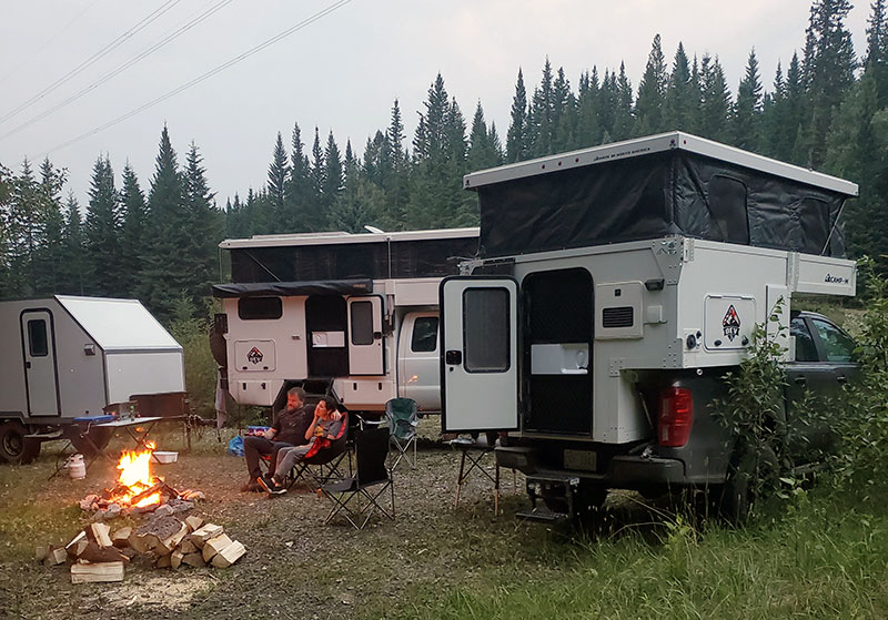 Camp M And Flatbed Camping