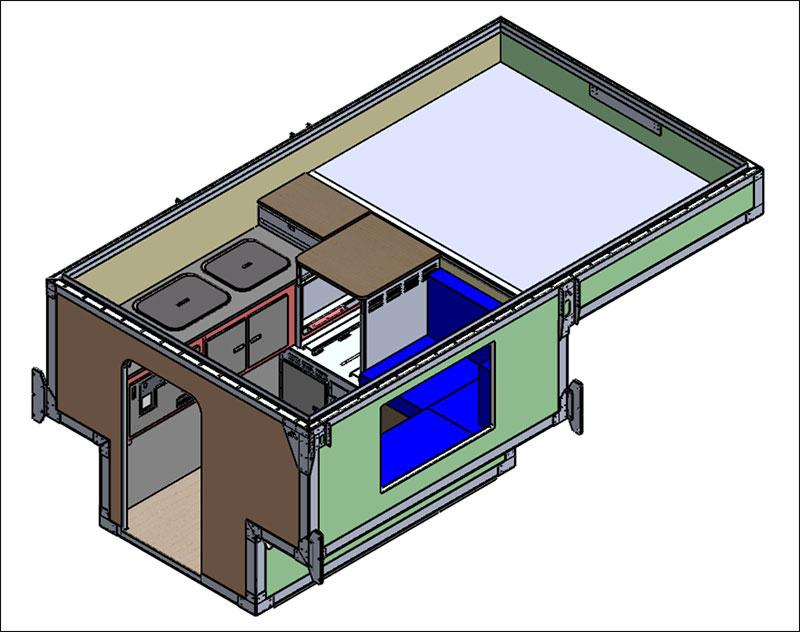 Camp X CAD Model 3D