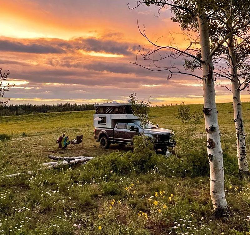 Camp X Camping Sunset