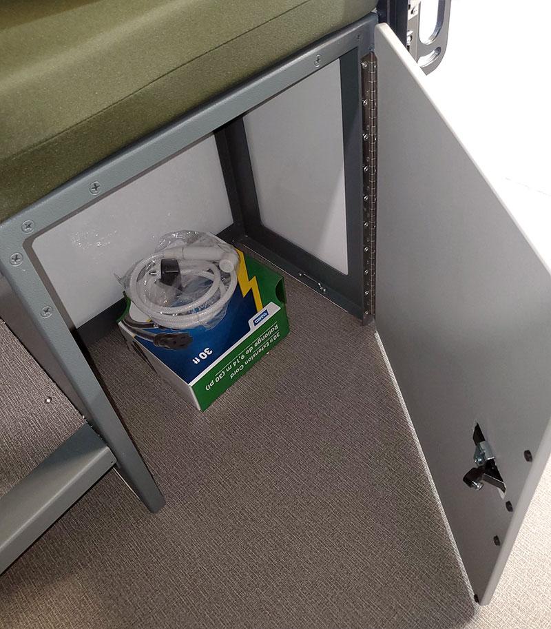 Camp X Porta Potty Storage