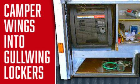 Gullwing Camper Lockers