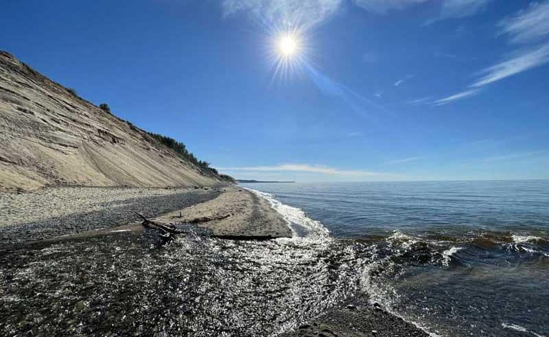 Grand Sable Dunes in Michigan