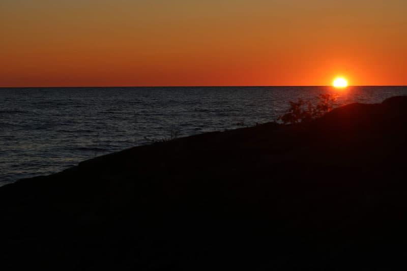 Keweenaw Campsite Sunrise