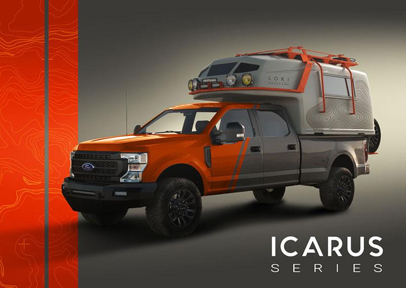 LOKI Icarus Camper Front Three Quarters