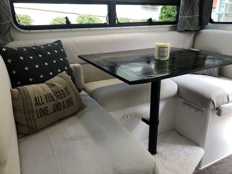 Lance 1030 Dinette Pillows After