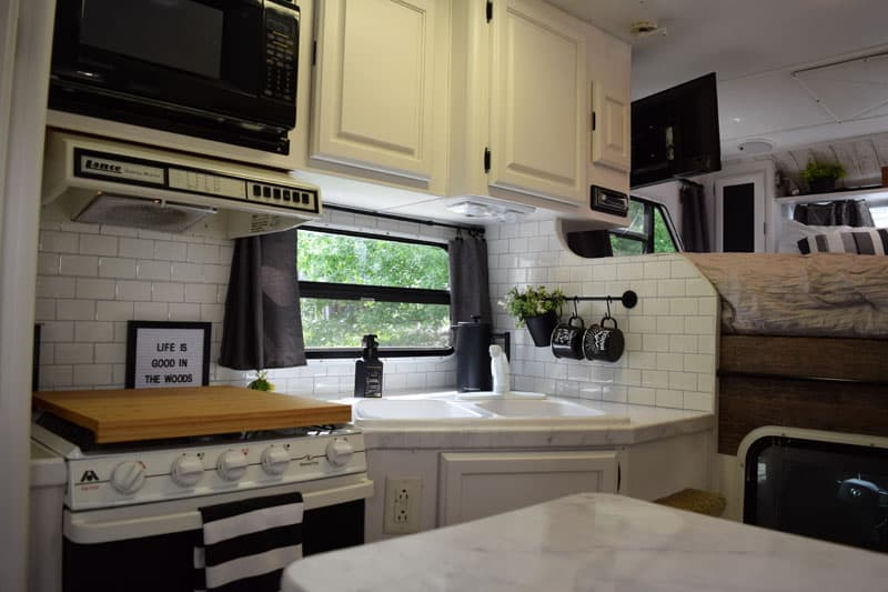 Lance 1030 Kitchen After