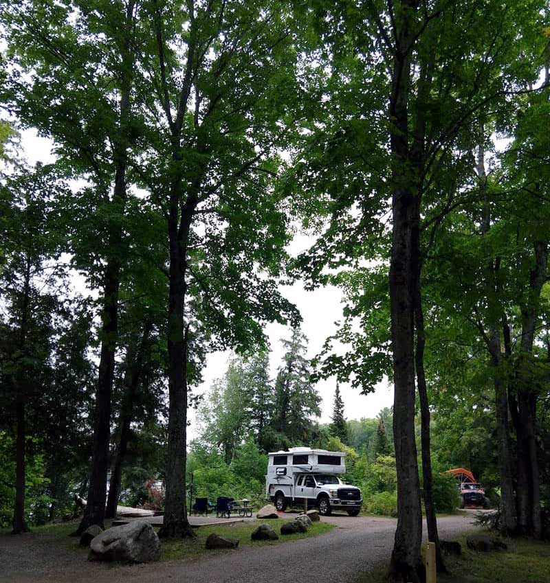 Little Beaver Campground In The Hiawatha National Forest