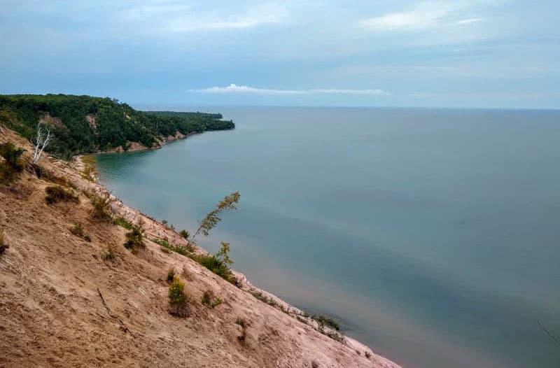 Michigan Log Slide Overlook