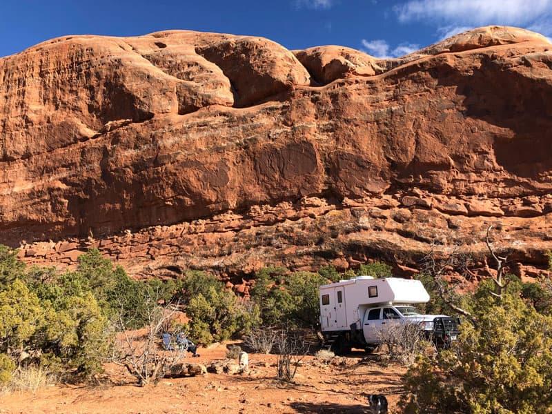Moab, UT Near Behind The Rocks