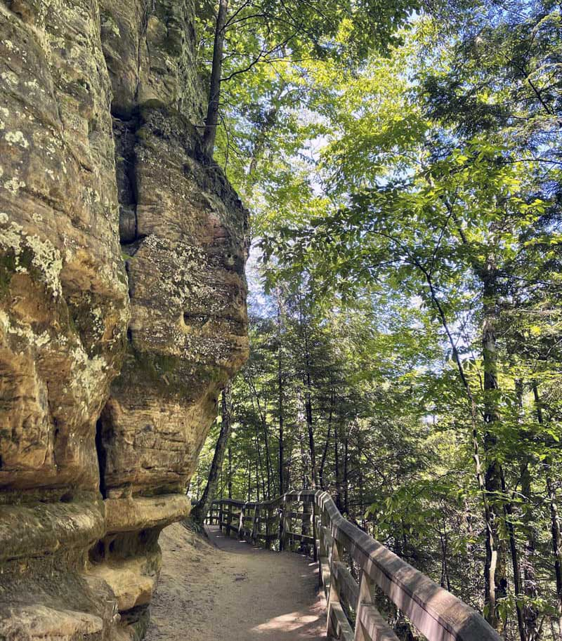Munising Falls Hike