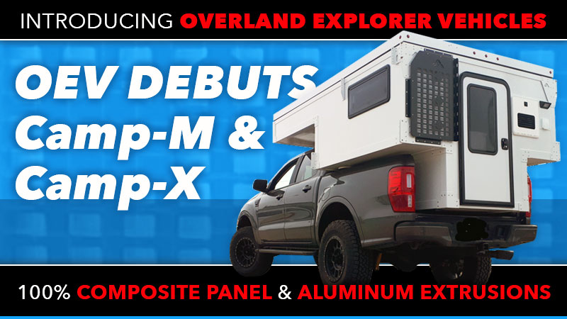 Overland Explorer Vehicles Camp X And Camp M