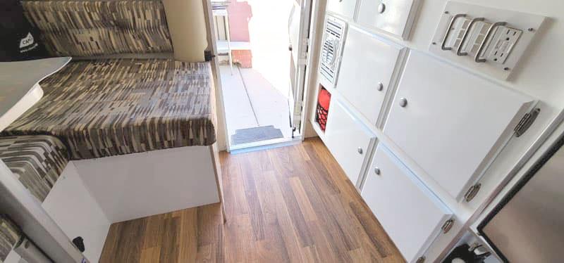 Pop Up Remodel Floor