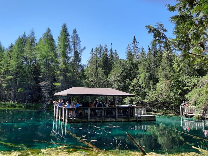 Raft At Kitch Iti Kipi Springs