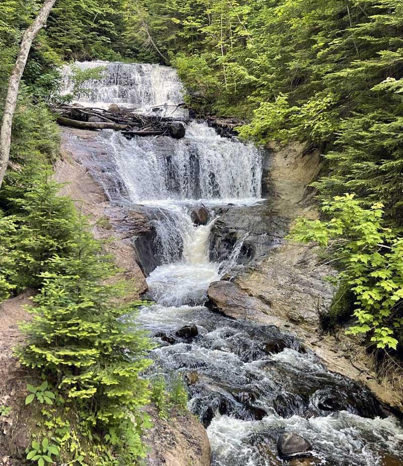 Sable Falls in Michigan