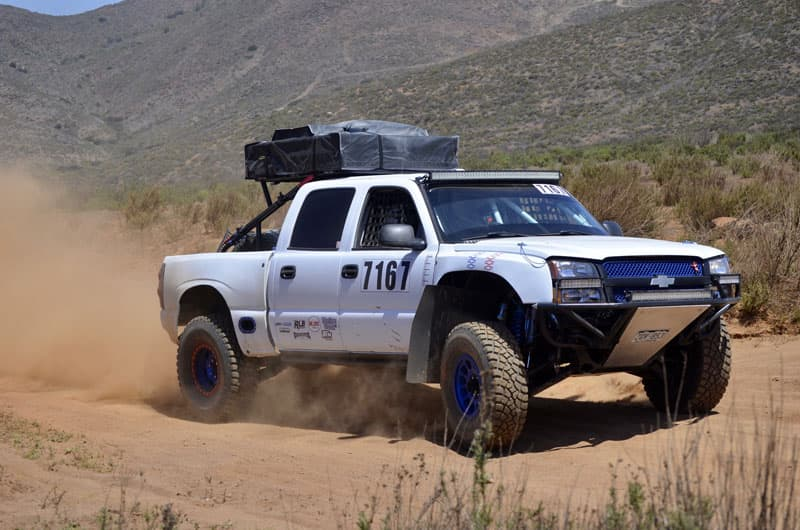 Truckeemctruckface Running The 2021 NORRA 1000 In Baja Near San Felipe