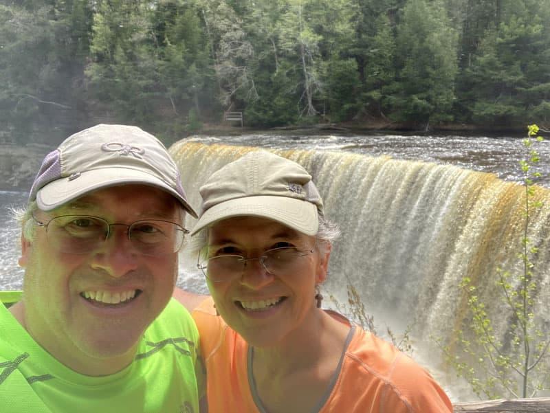 Upper Falls Tahquamenon Falls