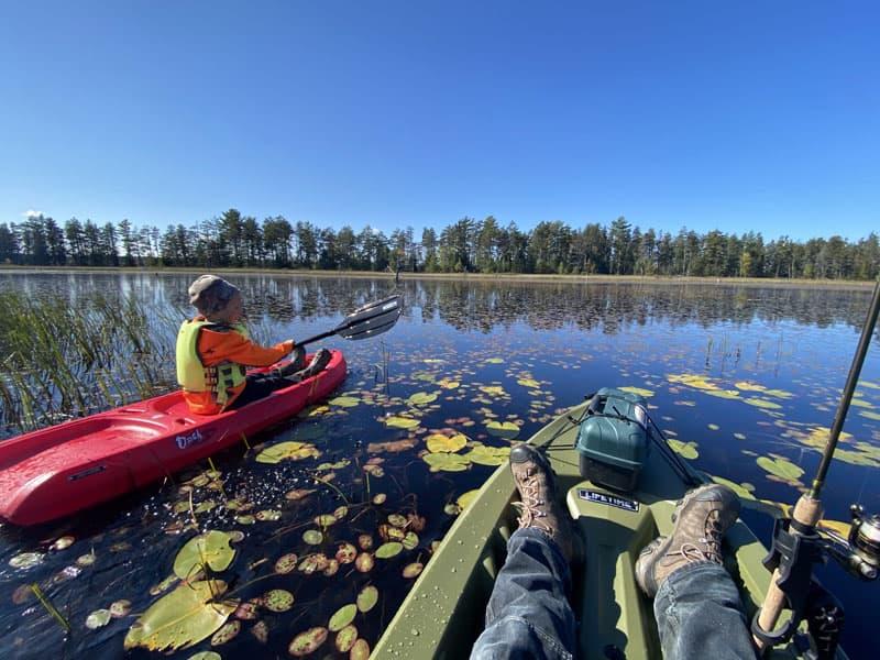 Upper Peninsula Michigan Kayaking