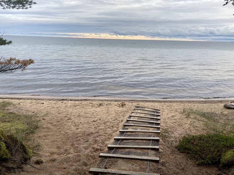 Upper Peninsula Michigan Swimming South Shore
