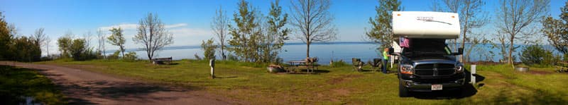 Our Campsite At Union Bay Campground