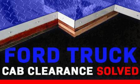 Ford Truck Cab Clearance Solved For Truck Campers