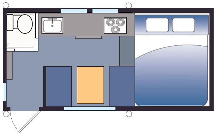 Hallmark Nevada Side Entry Truck Camper