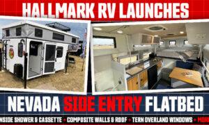 Hallmark Nevada Side Entry Flatbed Camper