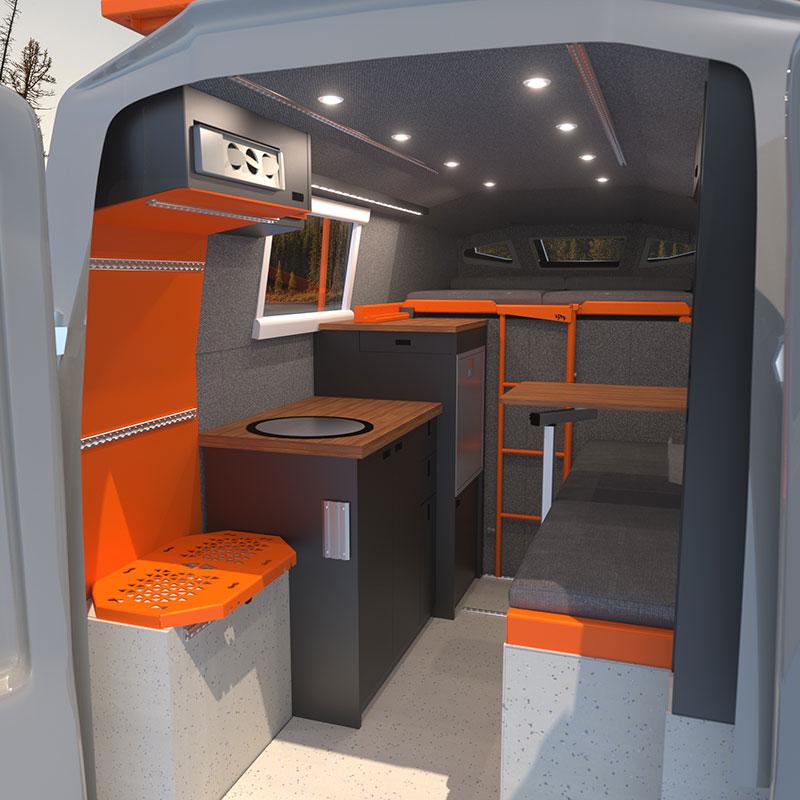 Icarus interior rendering driver side