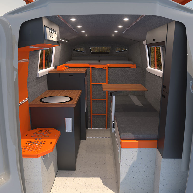 Icarus Interior Rendering Back to Front
