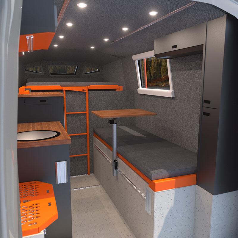 Icarus Interior Rendering Passenger Side