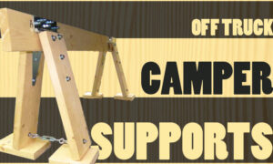 Off Truck Camper Supports