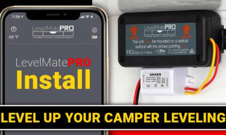 Level Mate Pro Installation in a Camper