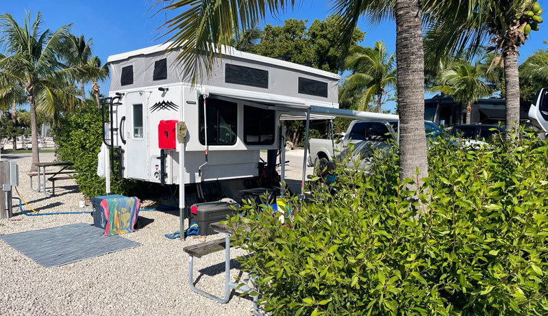 Milner At Boyds Campground Stock Island Key West