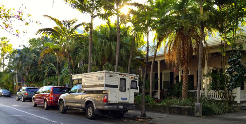 Parked In Key West