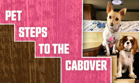 Pet Steps To Cabover