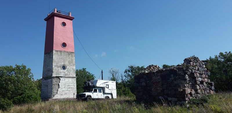 Virtsu Lighthouse Estonia