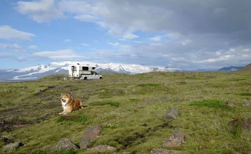 Eyjafjallajokull In Background Iceland