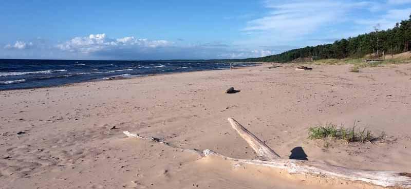 Saulkrasti Beach, Latvia
