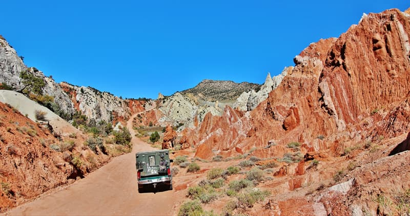Cottonwood Canyon Road, Utah
