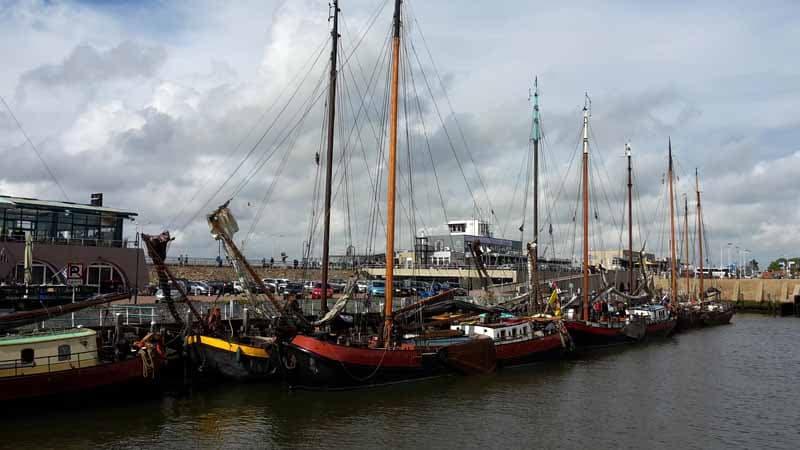Historic Harlingen Netherlands