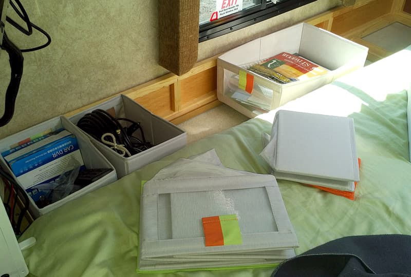 IKEA folding storage