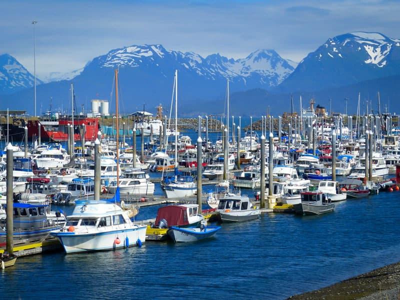 Homer harbor, Alaska