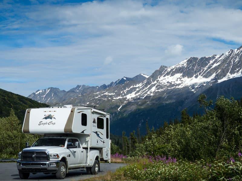 Thompson Pass, Chugach Mountains northeast of Valdez, Alaska