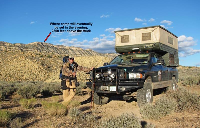 Lonely Cache Basecamp Escalante, Utah