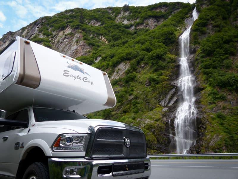 Bridal Falls, Valdez, Alaska