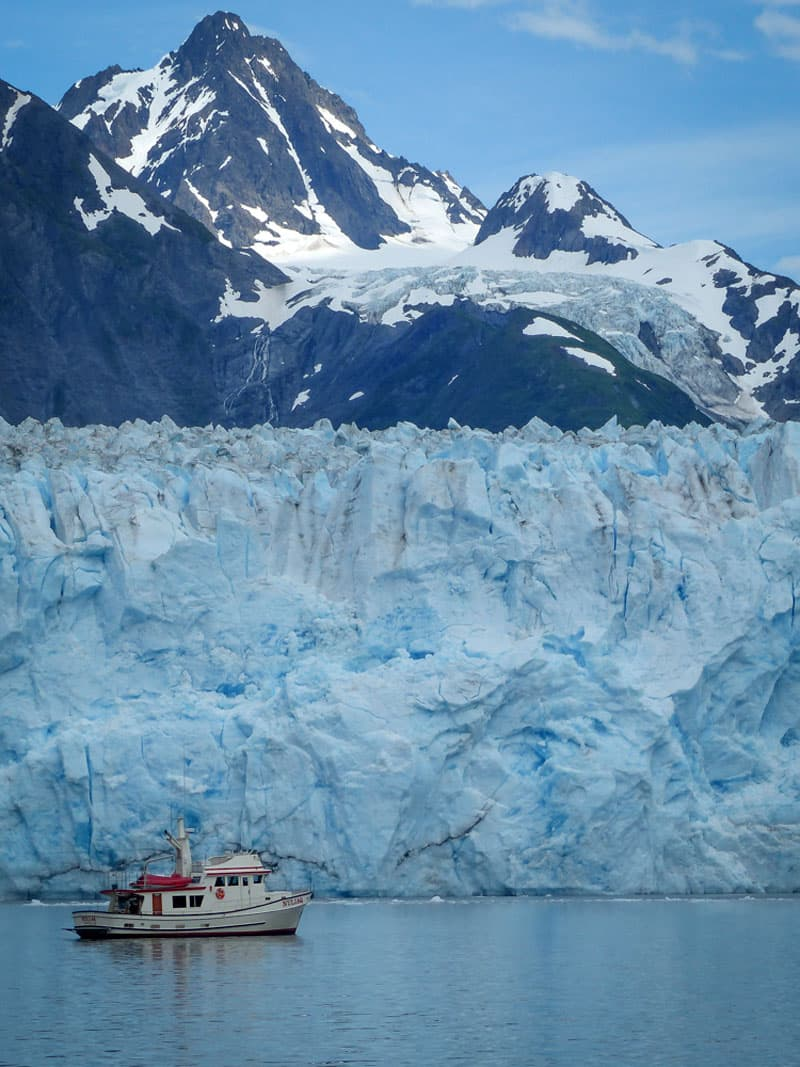 Meares Glacier, Valdez, Alaska