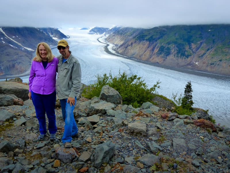 Hyder, Salmon Glacier
