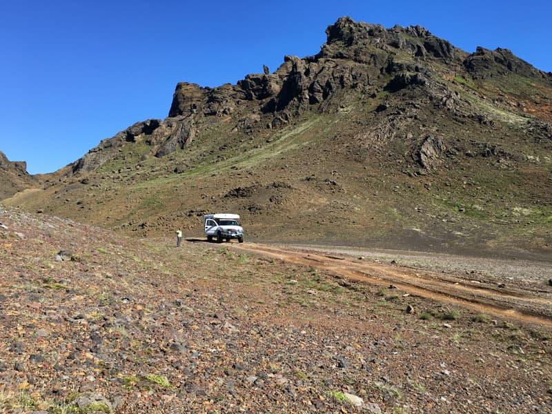 Kerlingaskaro Pass By The Troll