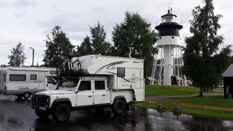 Jarvri Lighthouse, Sweden